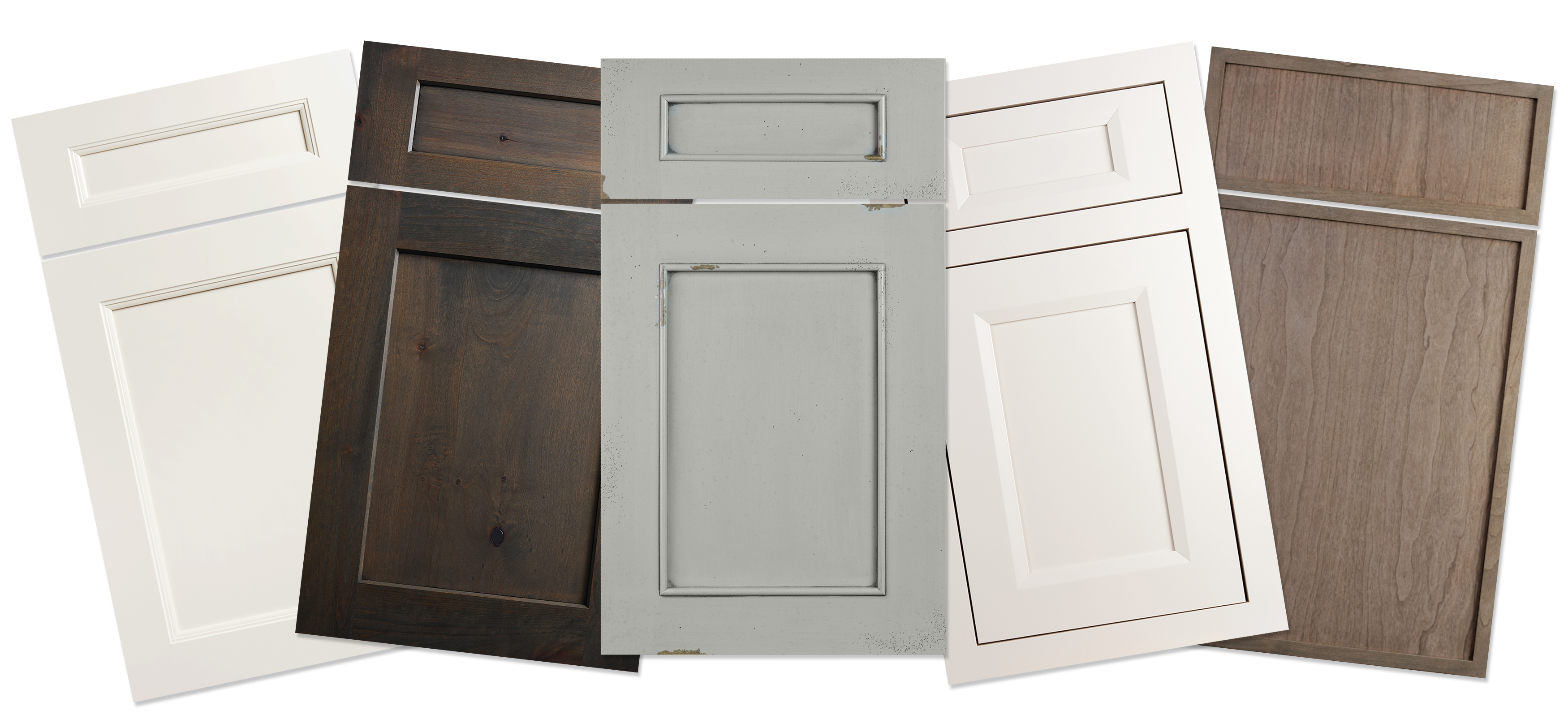 Flat Panel door styles from Dura Supreme Cabinetry