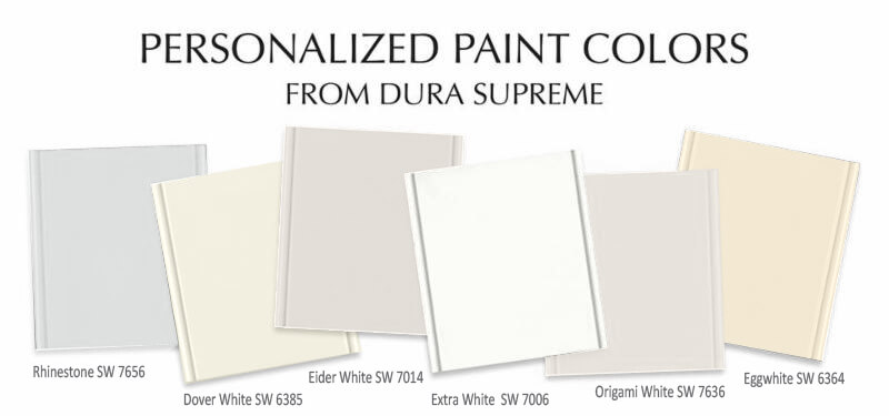 Personalized Paint Colors from Dura Supreme Cabinetry. Easy Custom Painted Cabinets.