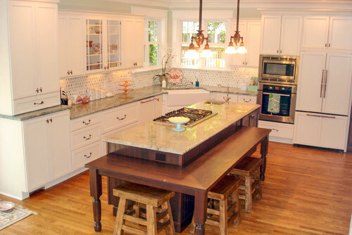 Dura Supreme Cabinetry Kitchen by West Chester Kitchen & Bath Designers Essence Design Studios