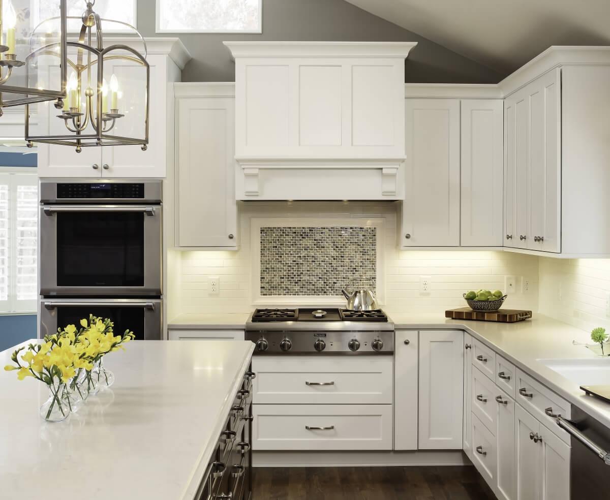 Transitional styled Dura Supreme kitchen design by Ispiri Design & Build.