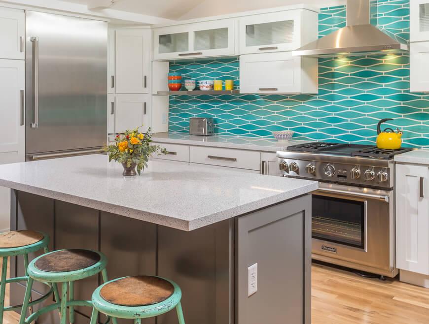 Dura Supreme kitchen design by Fernanda Conrad of K&W Interiors, Inc.