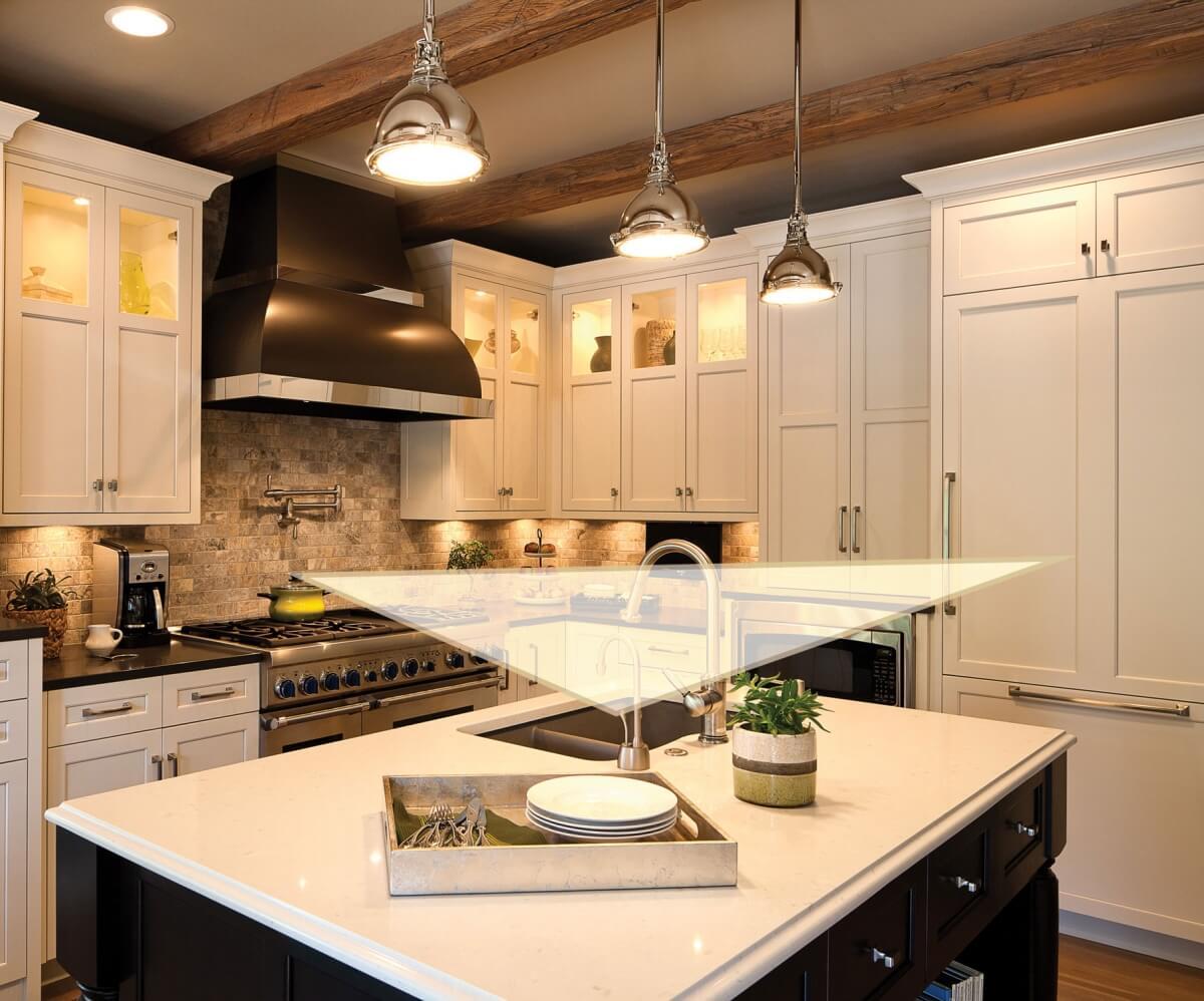 The kitchen work traingle