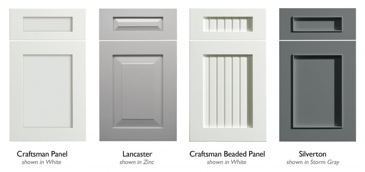 A cabinet door family from Dura Supreme