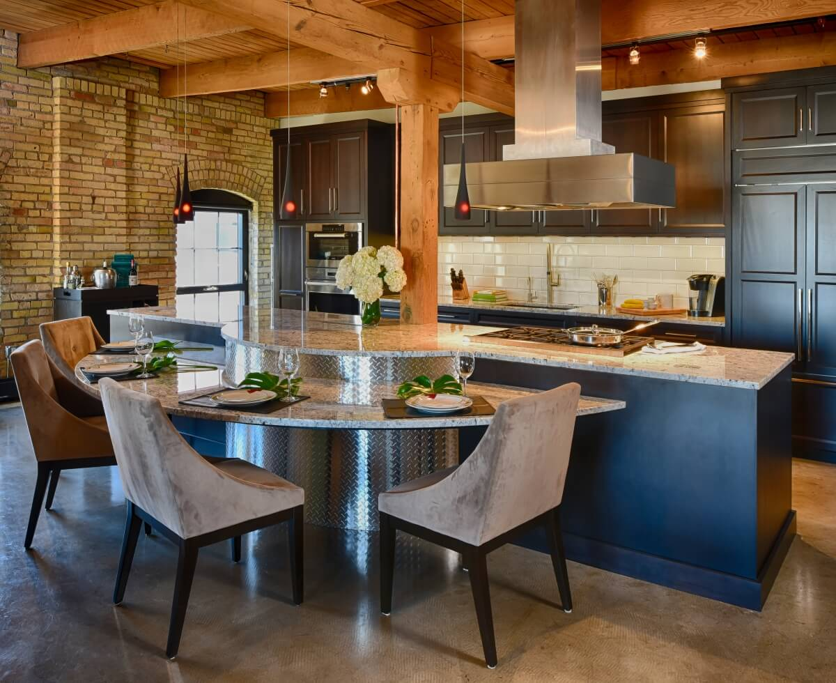 Kitchen Design 101 Countertop Heights And Overhangs For Kitchen Seating Dura Supreme Cabinetry