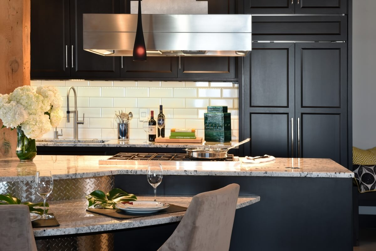 Dura Supreme kitchen designed by Leslie Meyers of Studio M Kitchen & Bath, Plymouth, MN