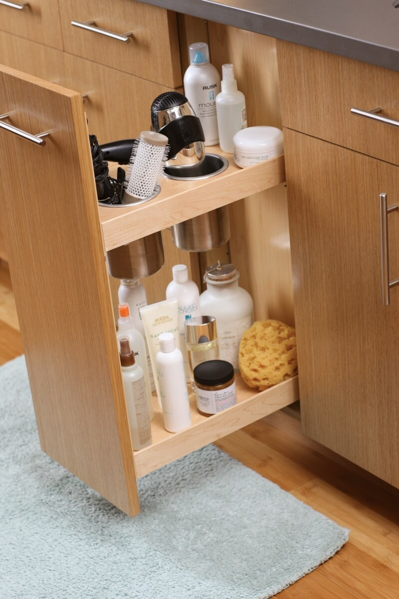 Dura Supreme's Vanity Grooming Cabinet, non-power option