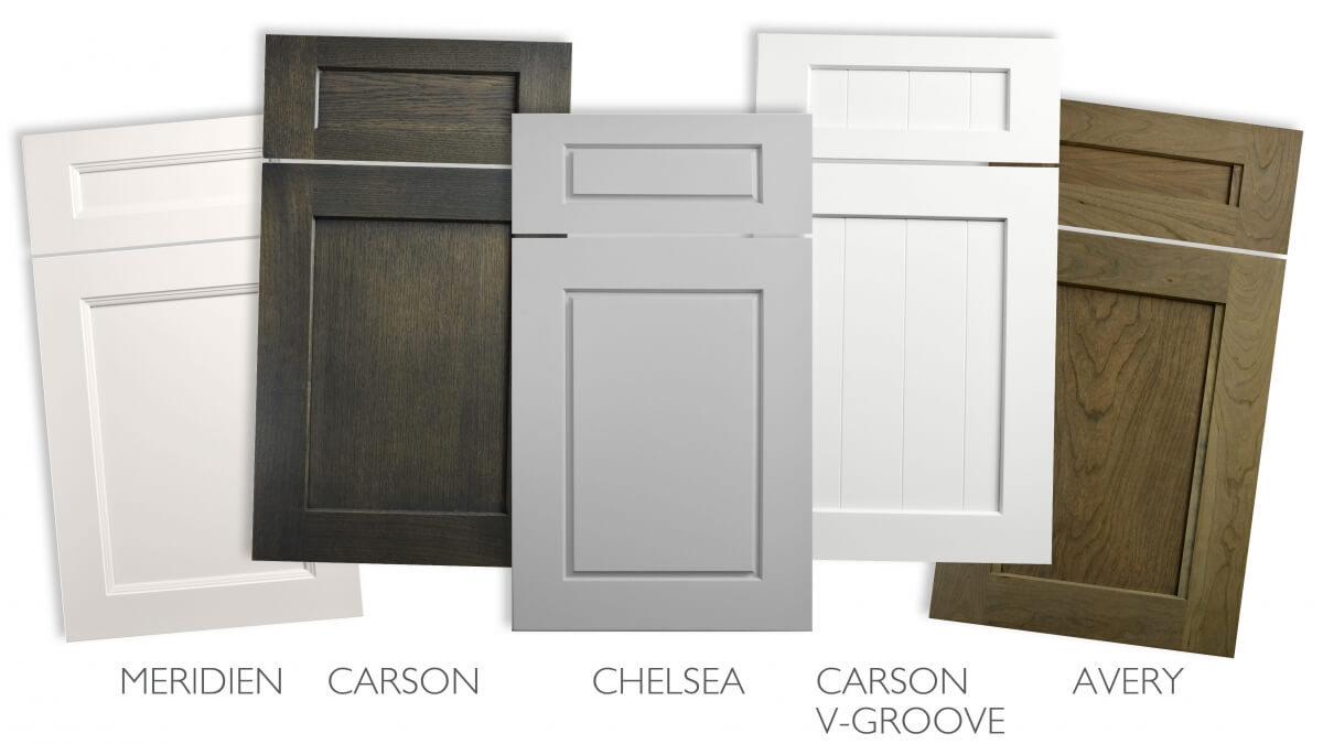 Five Beautiful Transitional Door Styles from Dura Supreme