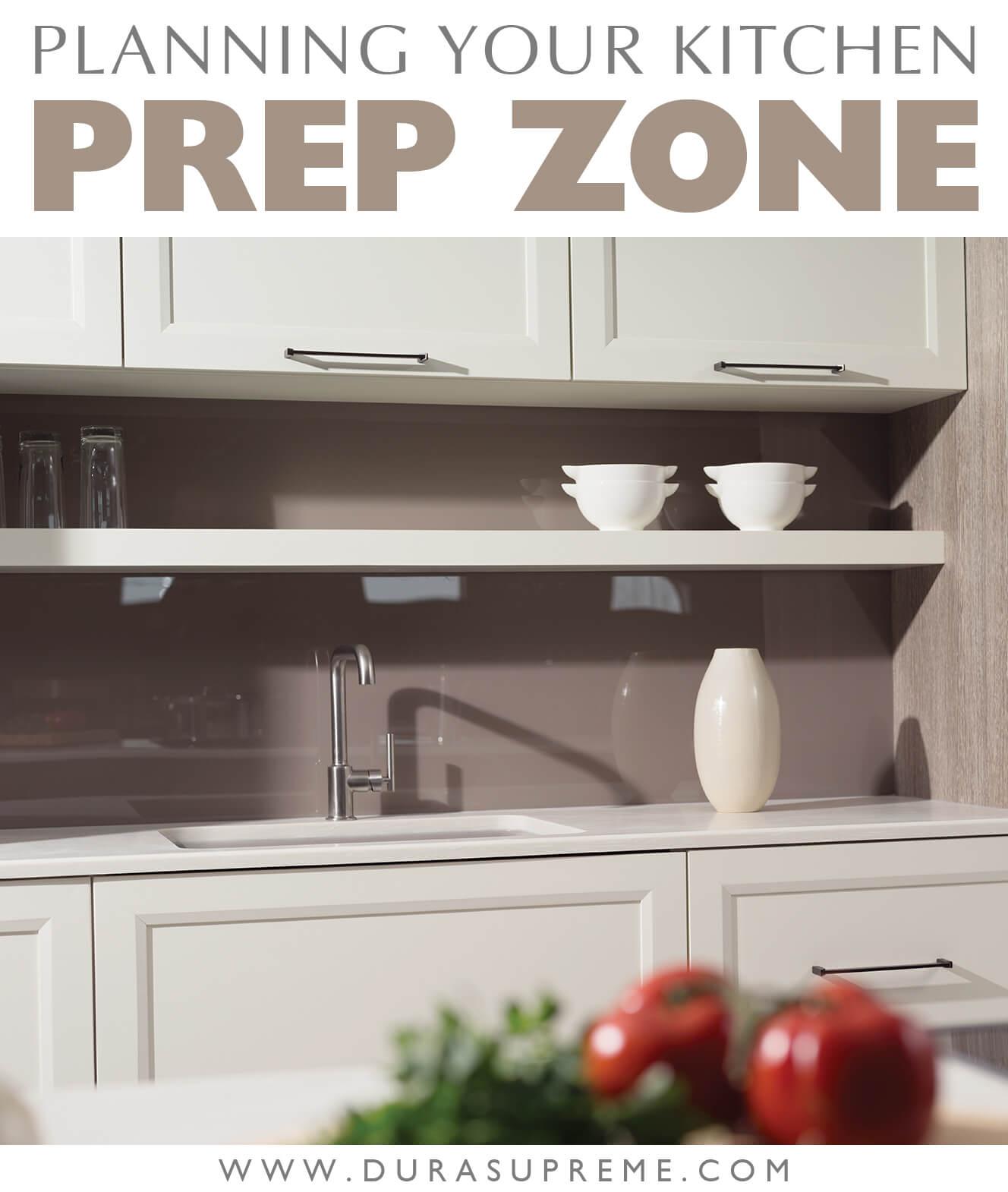 Kitchen Work Zones: Planning Your Kitchen Prep Zone