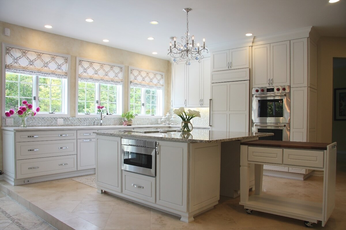 Dura Supreme Cabinetry kitchen design by Jessica Page of NVS Kitchen & Bath Inc., Virginia.