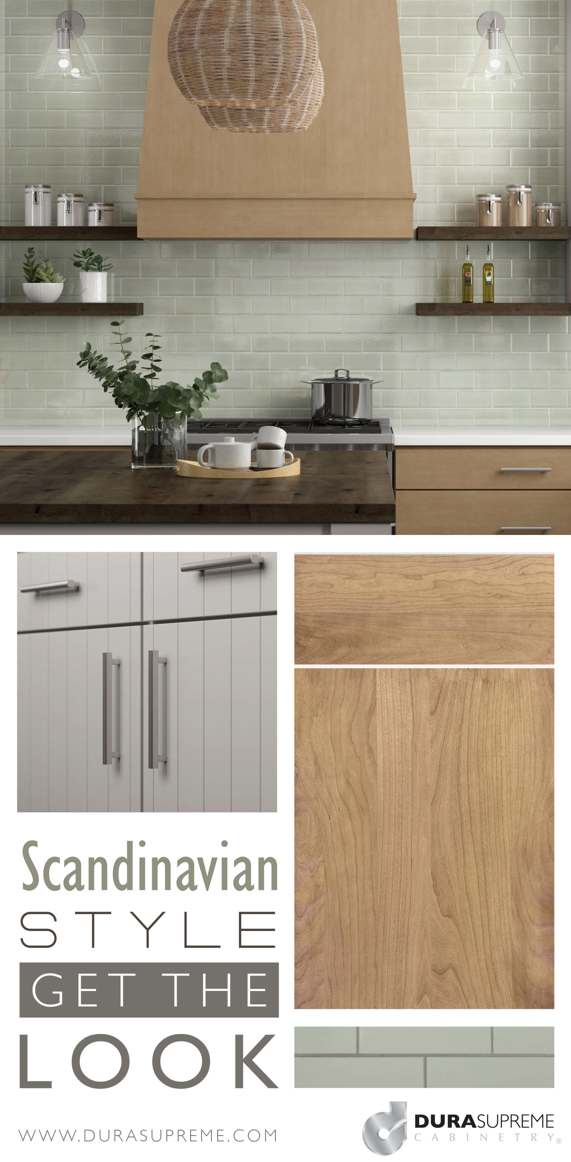 Get The Look Scandinavian Style Kitchen Design Dura Supreme Cabinetry