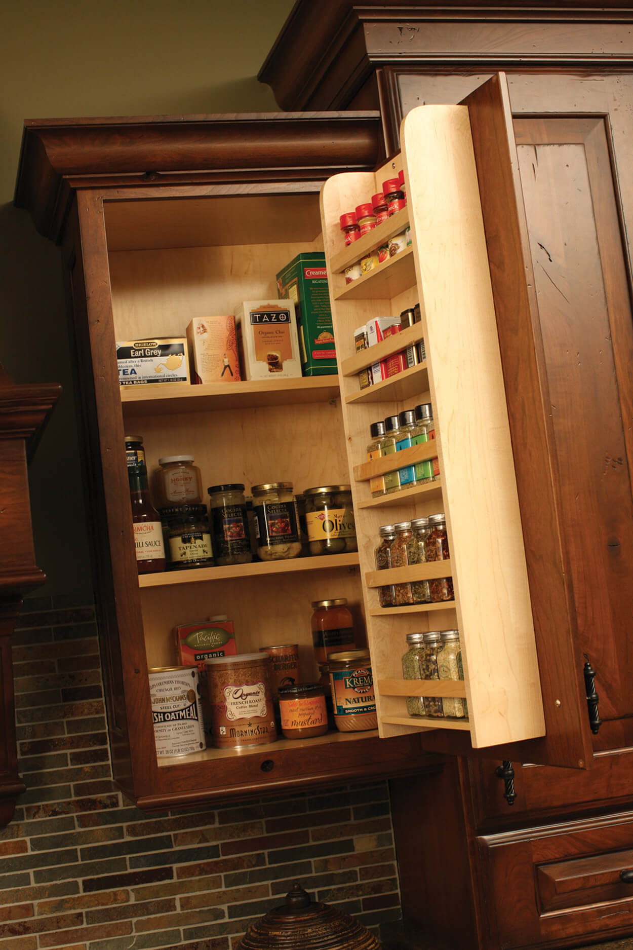 Door Spice Rack (DSR) by Dura Supreme Cabinetry