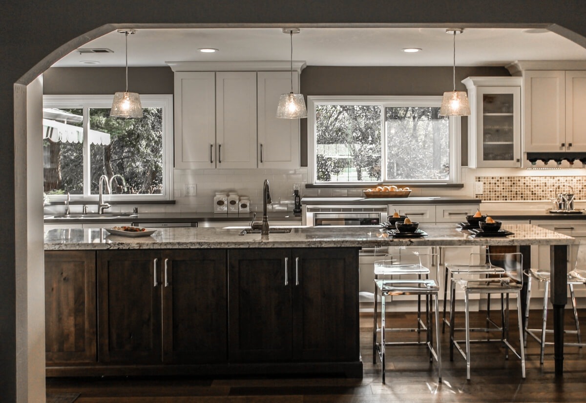 Dura Supreme Cabinetry kitchen design by Shelley Lober, CKD or Kitchens of Diablo, California.