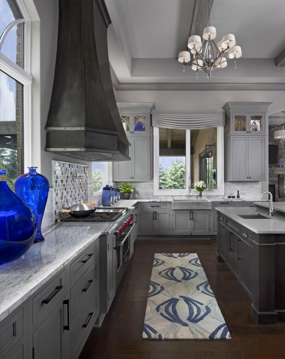 Dura Supreme Cabinetry design by Zey Hilla of KSI Kitchen & Bath. Photography by Beth Singer.