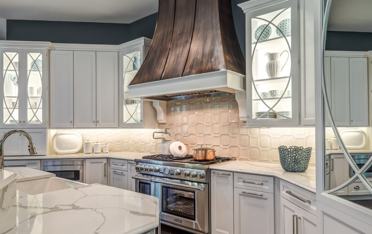 Dura Supreme Cabinetry kitchen design by Mauk Cabinets by Design.