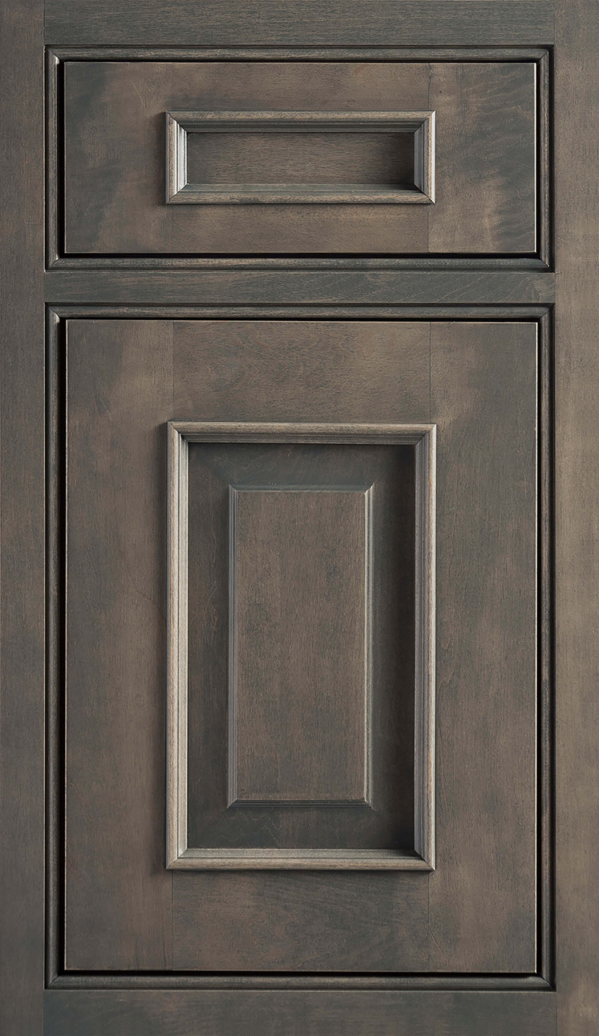 Dura Supreme Cabinetry, Inset Styling on the Montego-Inset door style with Beaded Face Frame, one Barrel, and one Concealed Hinging