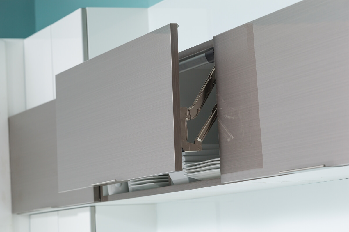 Dura Supreme Cabinetry, Stainless Steel Lift Door