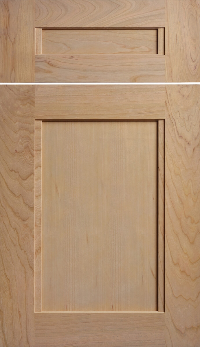 Dura Supreme's Avery Door Style, in Cherry, finished in Coriander stain