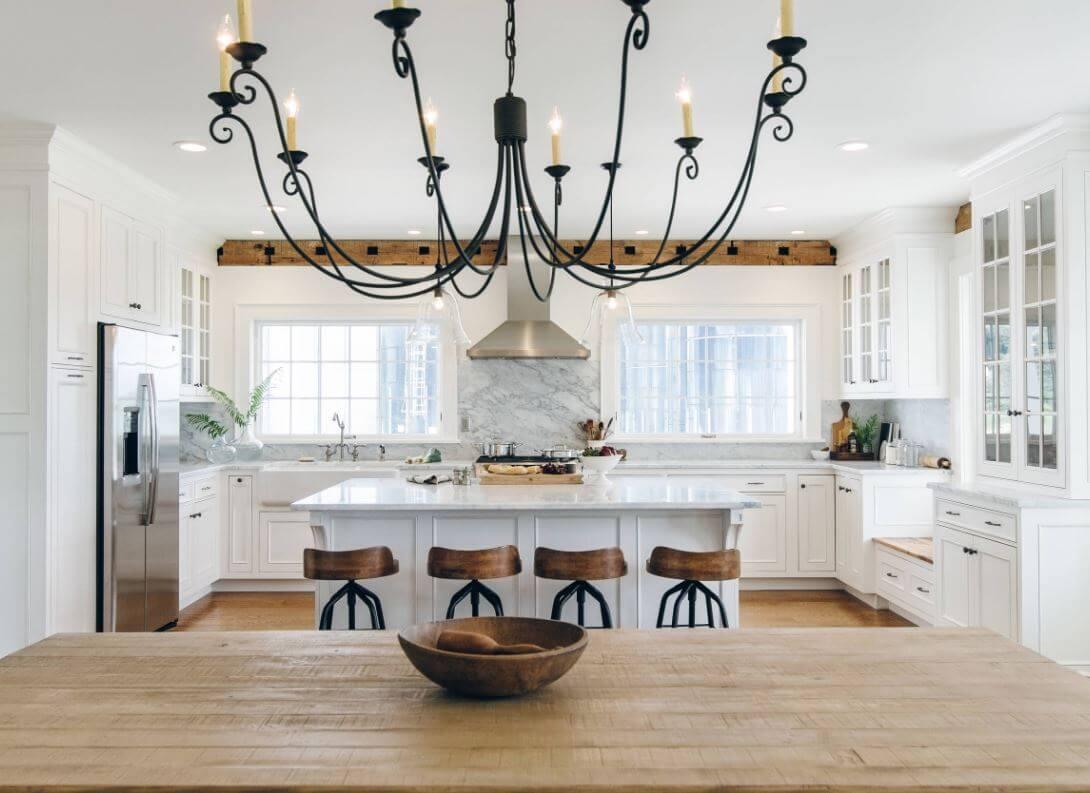 Modern Farmhouse Style, Design by The Working Kitchen, Ltd., New York, Photography by Vicki Bodine