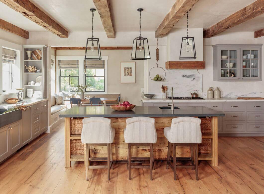 Modern Farmhouse Style, design by Jess Cooney Interiors, Great Barrington, MA