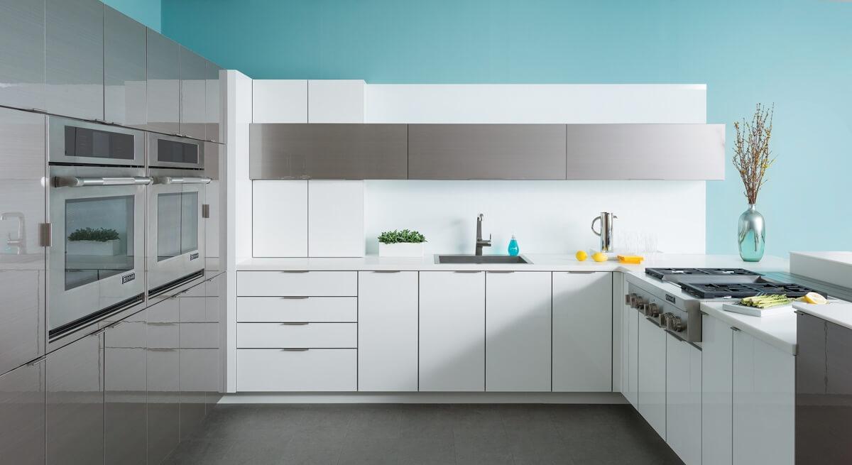 Contemporary Design, all Dura Supreme Cabinetry