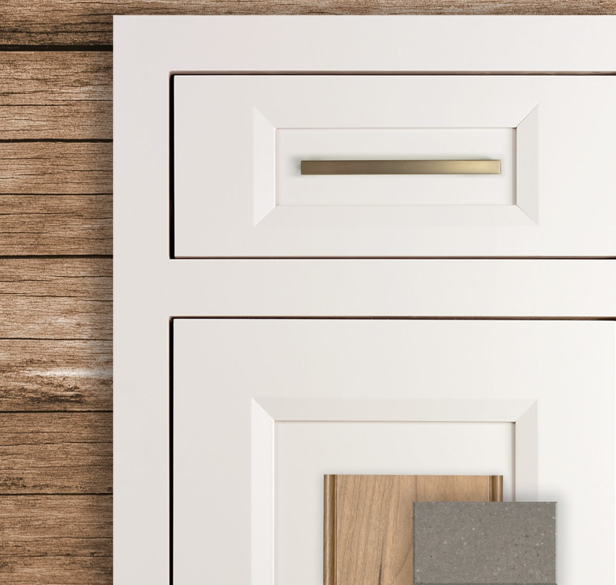 Dura Supreme Cabinetry's Lauren-Inset door style in