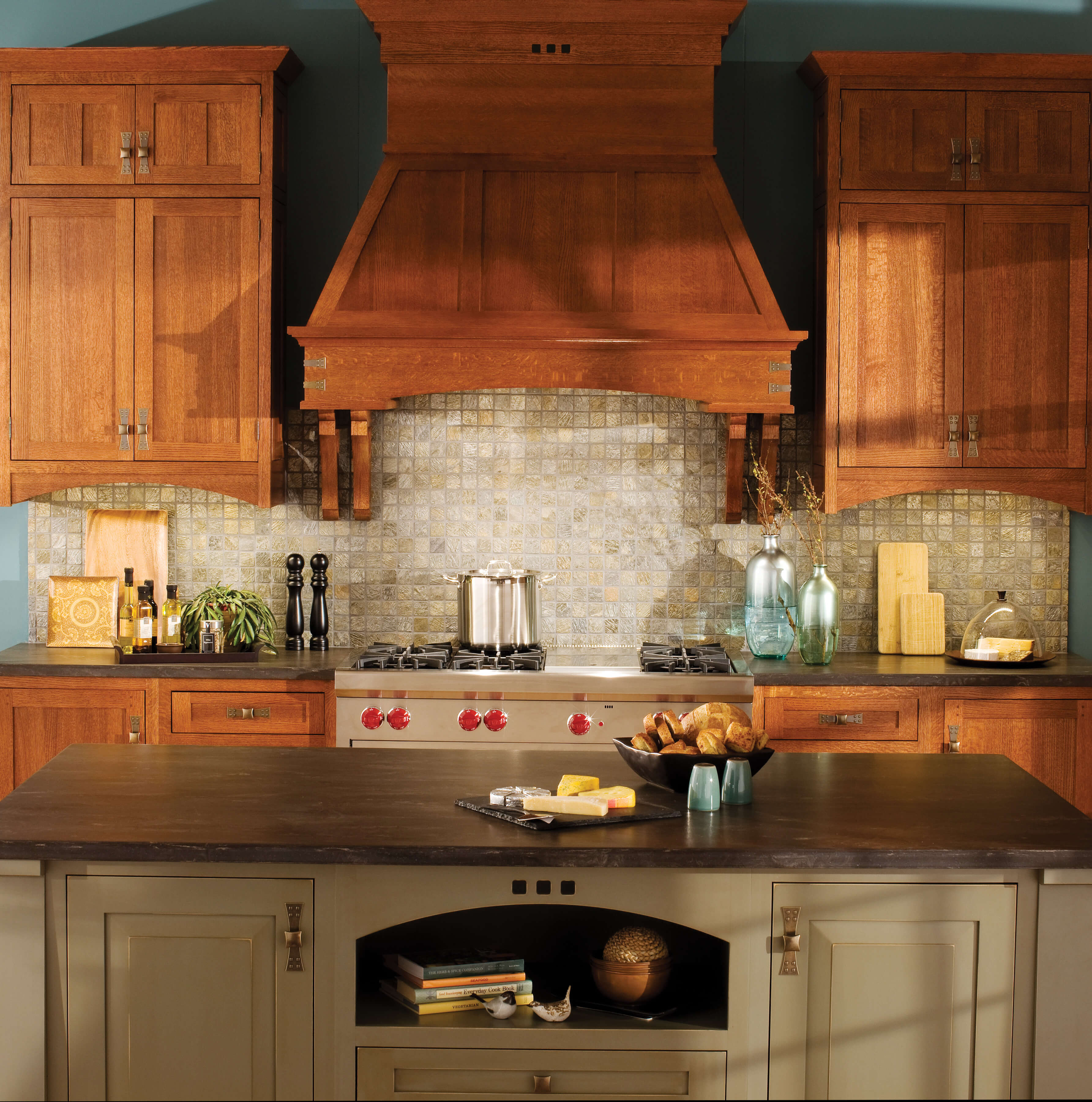 Dura Supreme Cabinetry shown with the Craftsma Panel-Inset door style with a