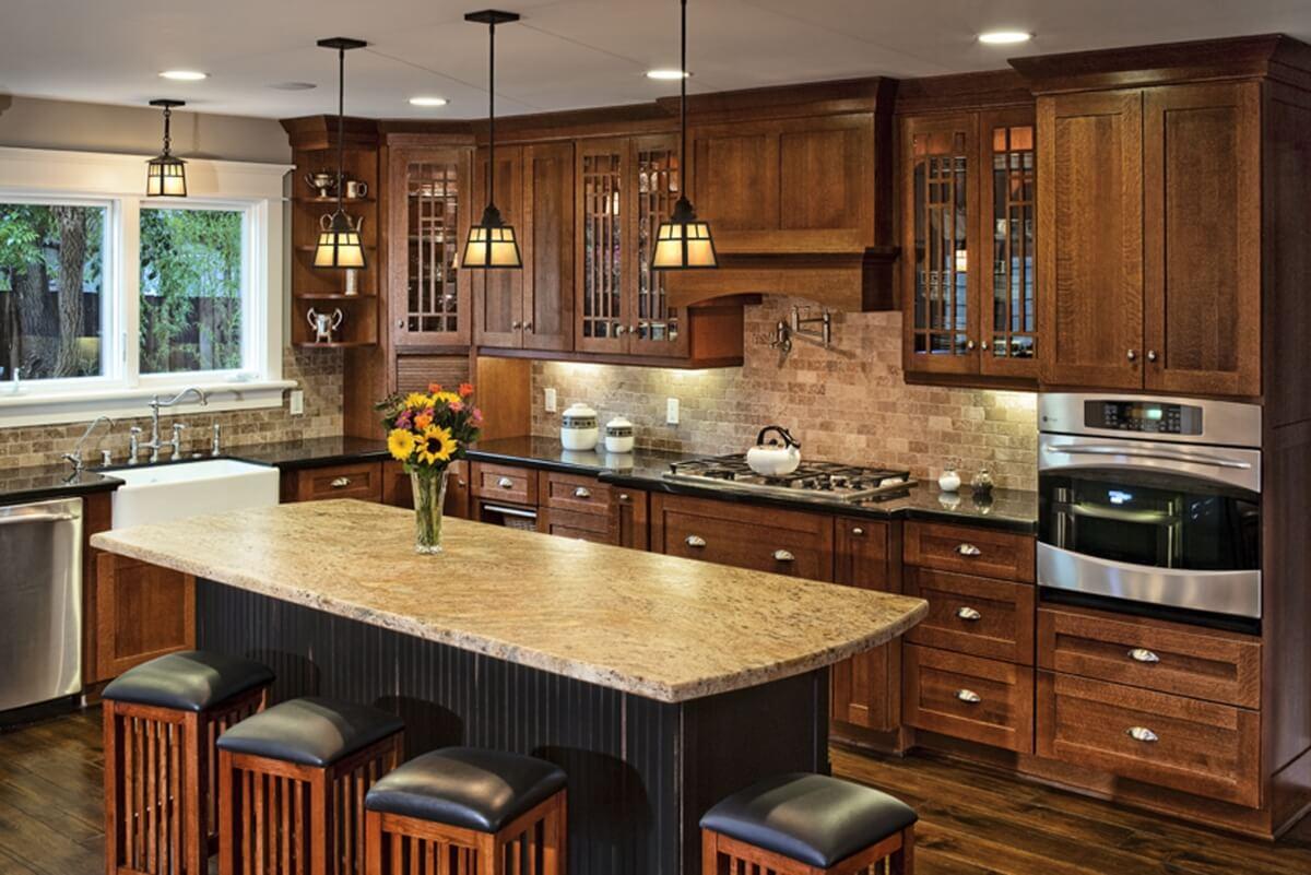 Dura Supreme kitchen design by Linda Williams of Hahka Kitchens, California