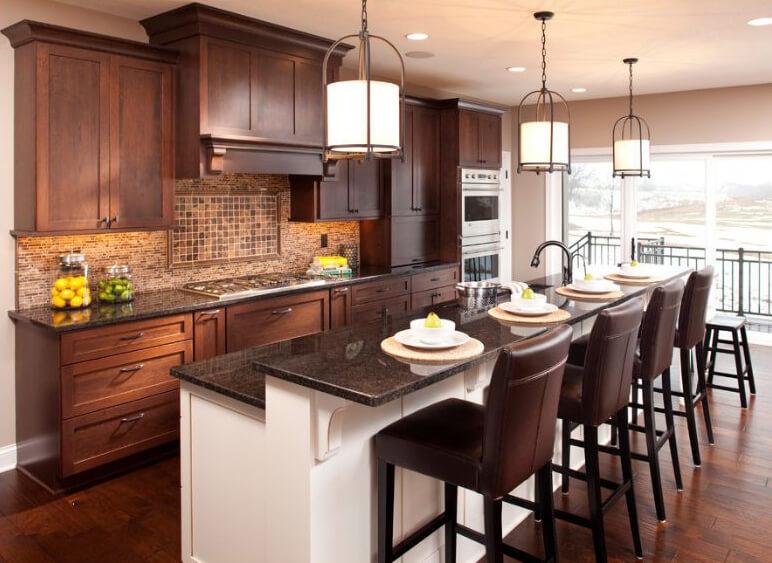 Dura Supreme kitchen design by Ispiri Design Build Remodel, Minnesota.