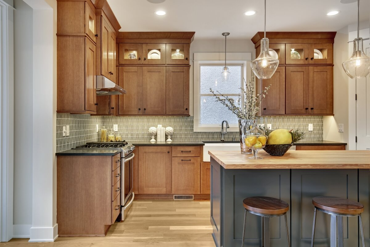 Get The Look How To Create A Craftsman Style Kitchen Dura Supreme Cabinetry