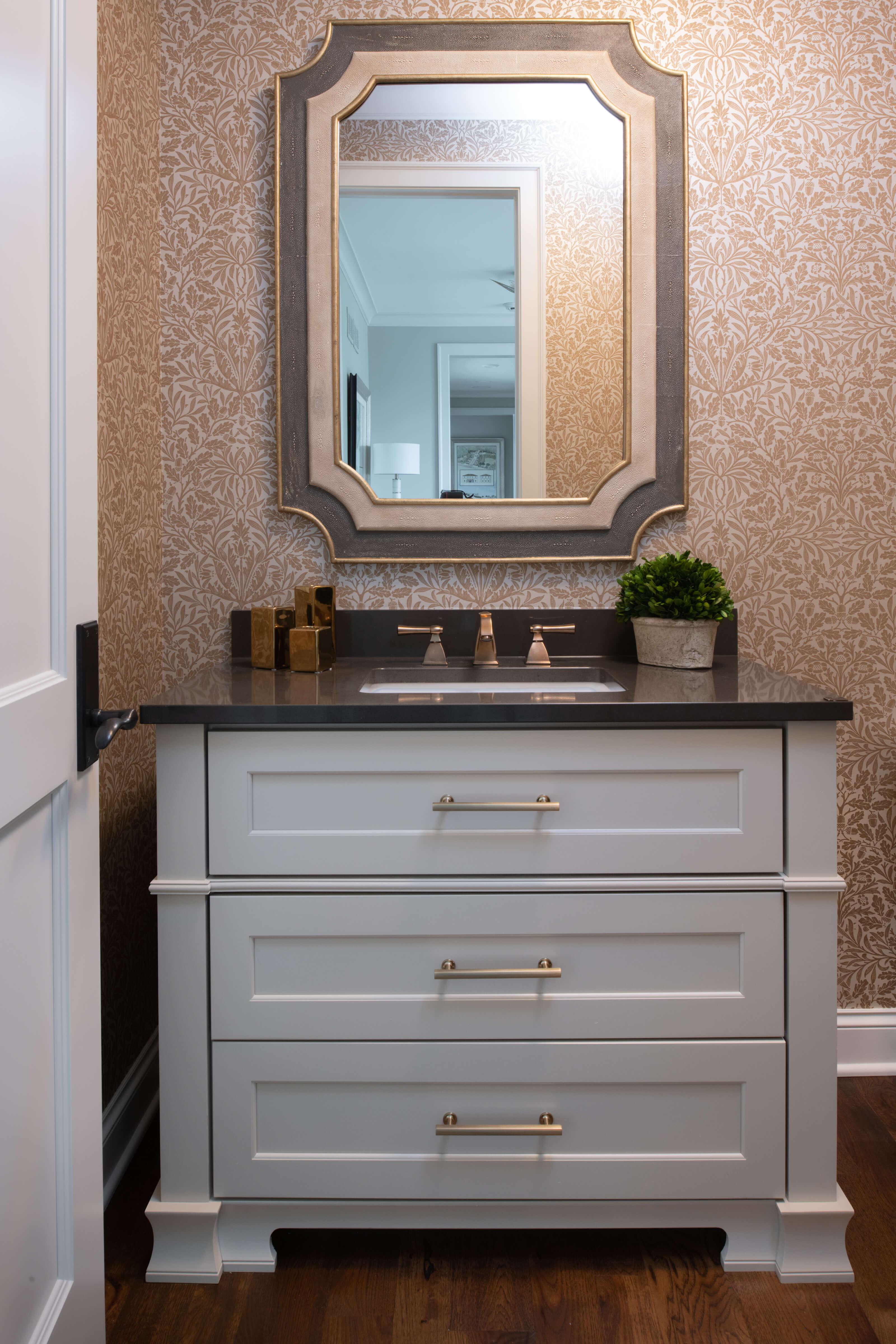 Dura Supreme Furniture Vanity, Designer Tricia Tidemann at Mingle Design Studio
