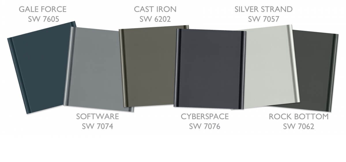 On Trend Curated Colors for kitchen and bath cabinets from Dura Supreme Cabinetry.