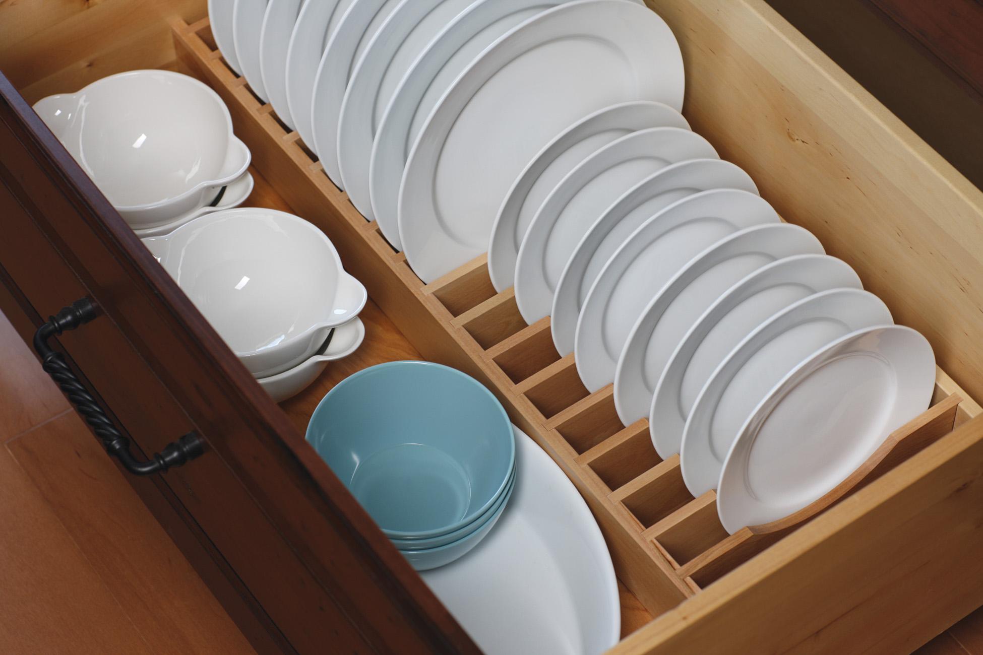 Plate Rack Drawer