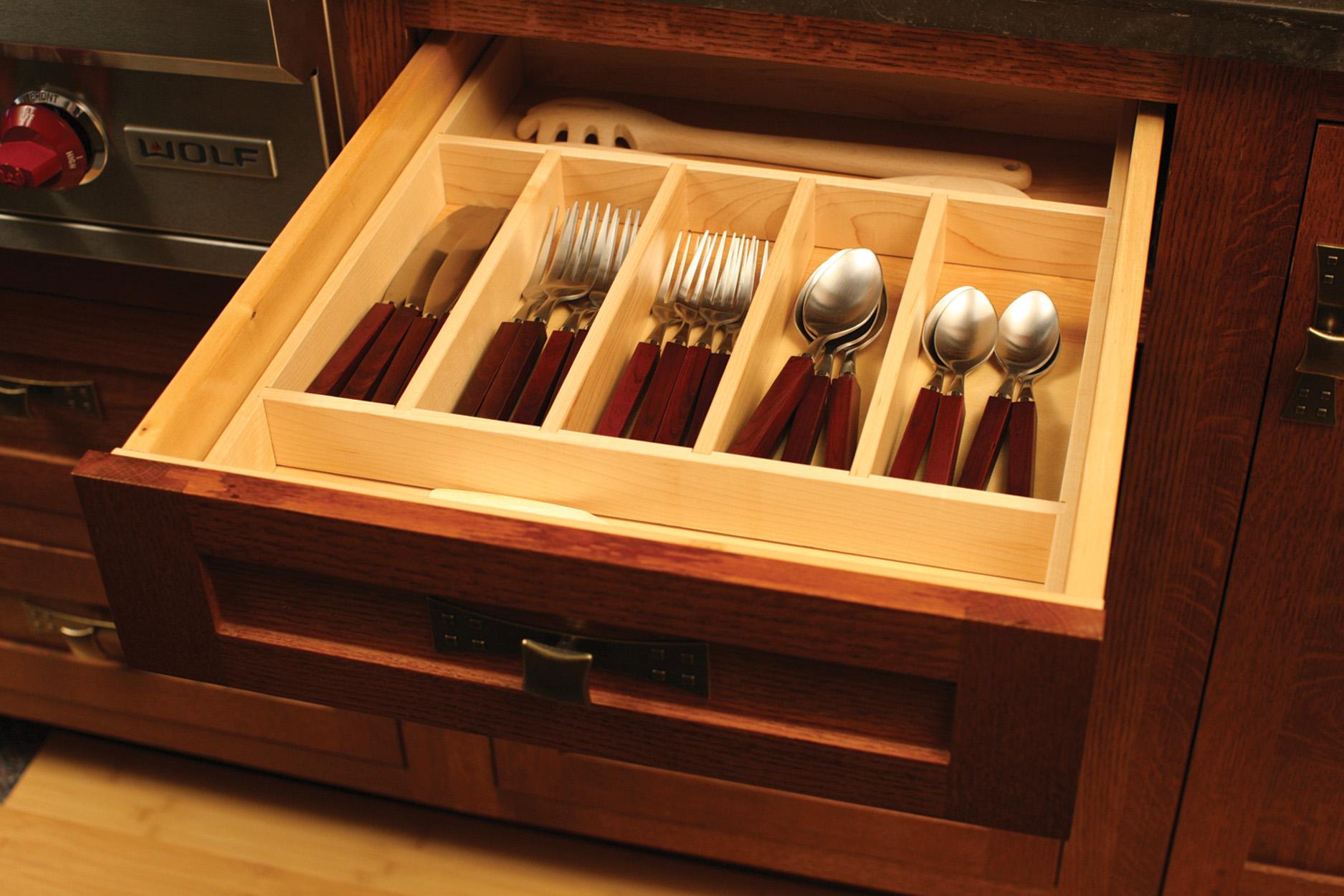 Cutlery Divider Tray
