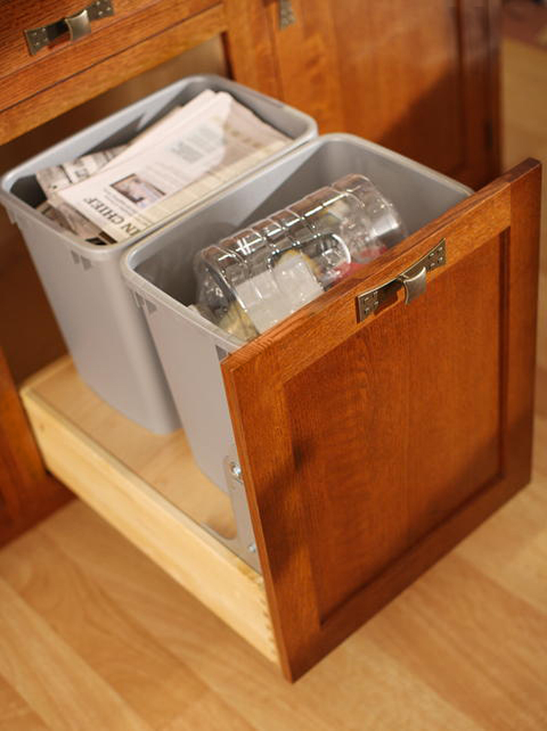 Base Recycling Center with Drawer