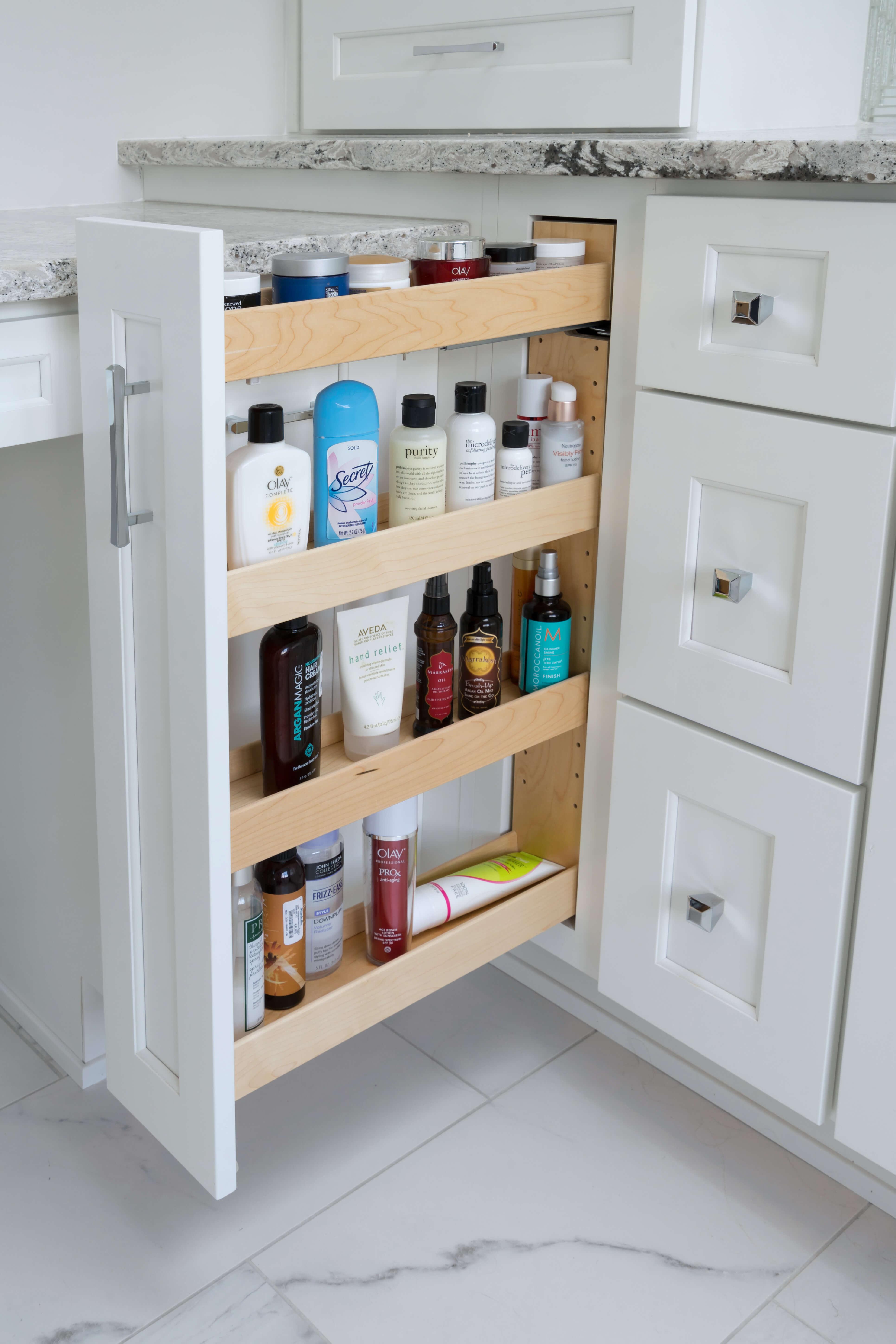 Vanity Pull-Out Storage