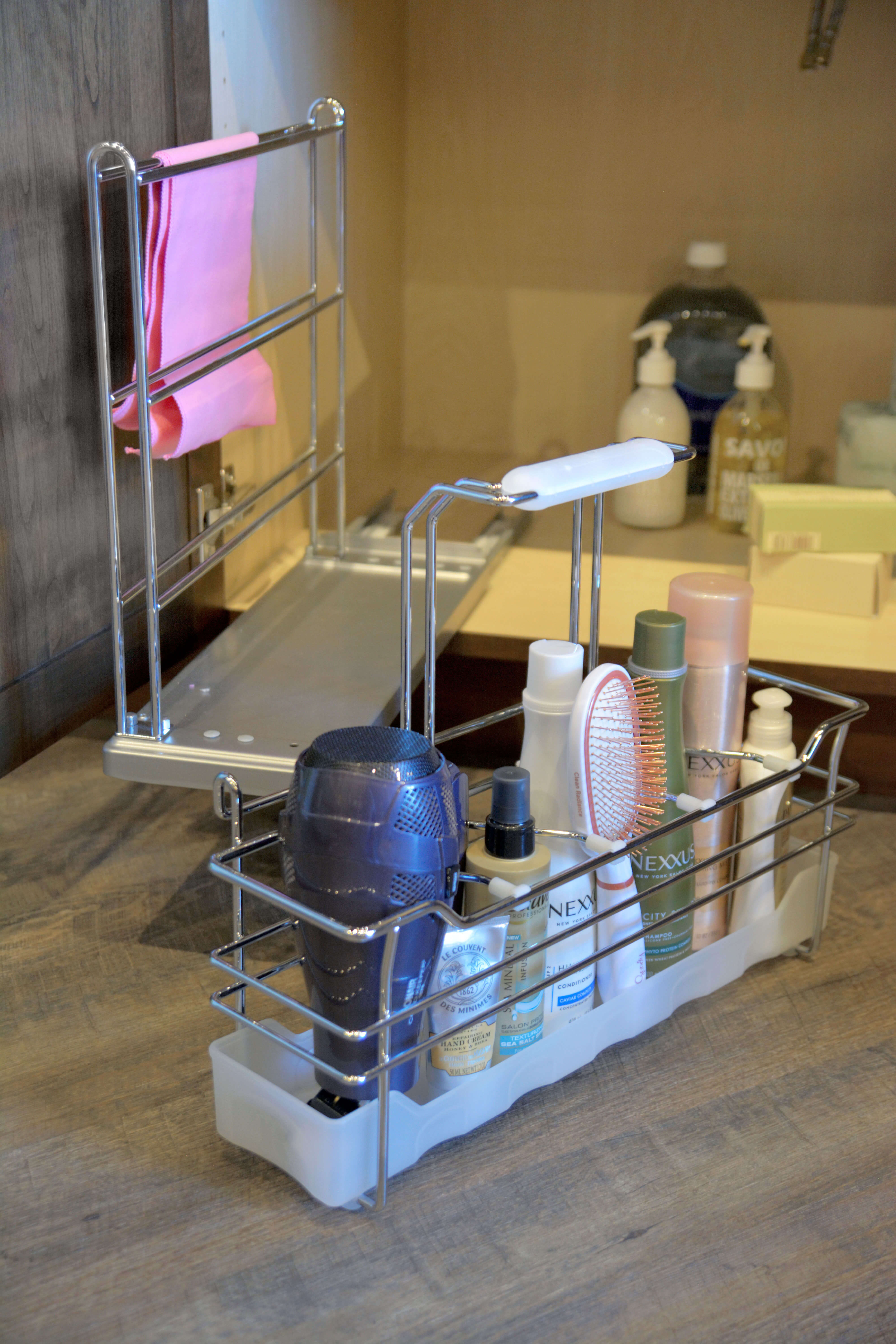 Sink Base Pull-Out Caddy - Bathroom
