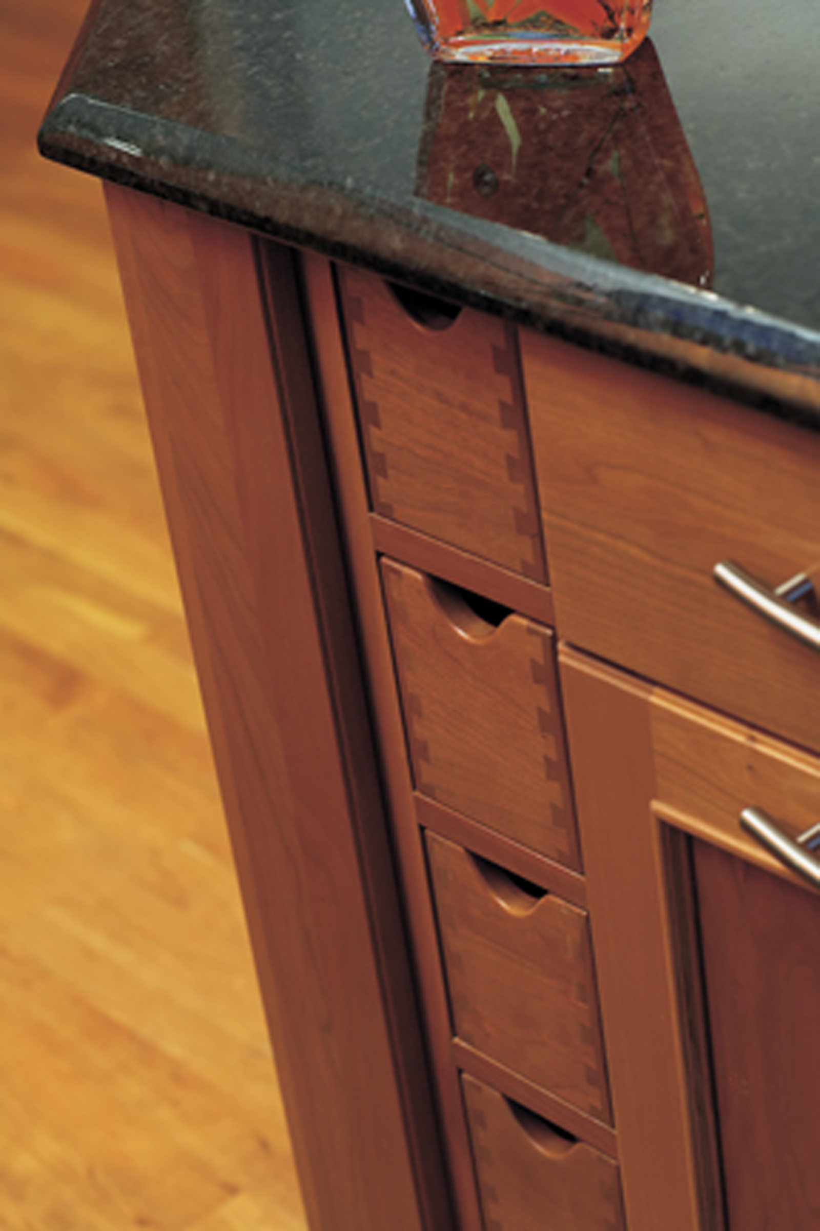 Vertical Apothecary Drawers