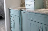 Dura Supreme Cabinetry designed by Lindsey Markel of Dillman & Upton, Michigan