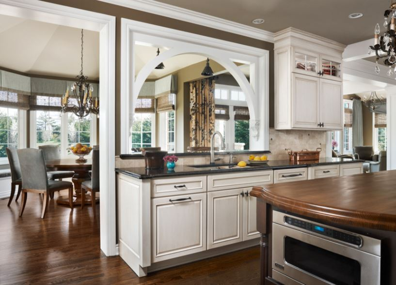 Award Winning Kitchen Remodel With Function For Two And Elegance All Dura Supreme Cabinetry