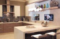 Dura Supreme kitchen design by of Kitchens of Diablo, California.