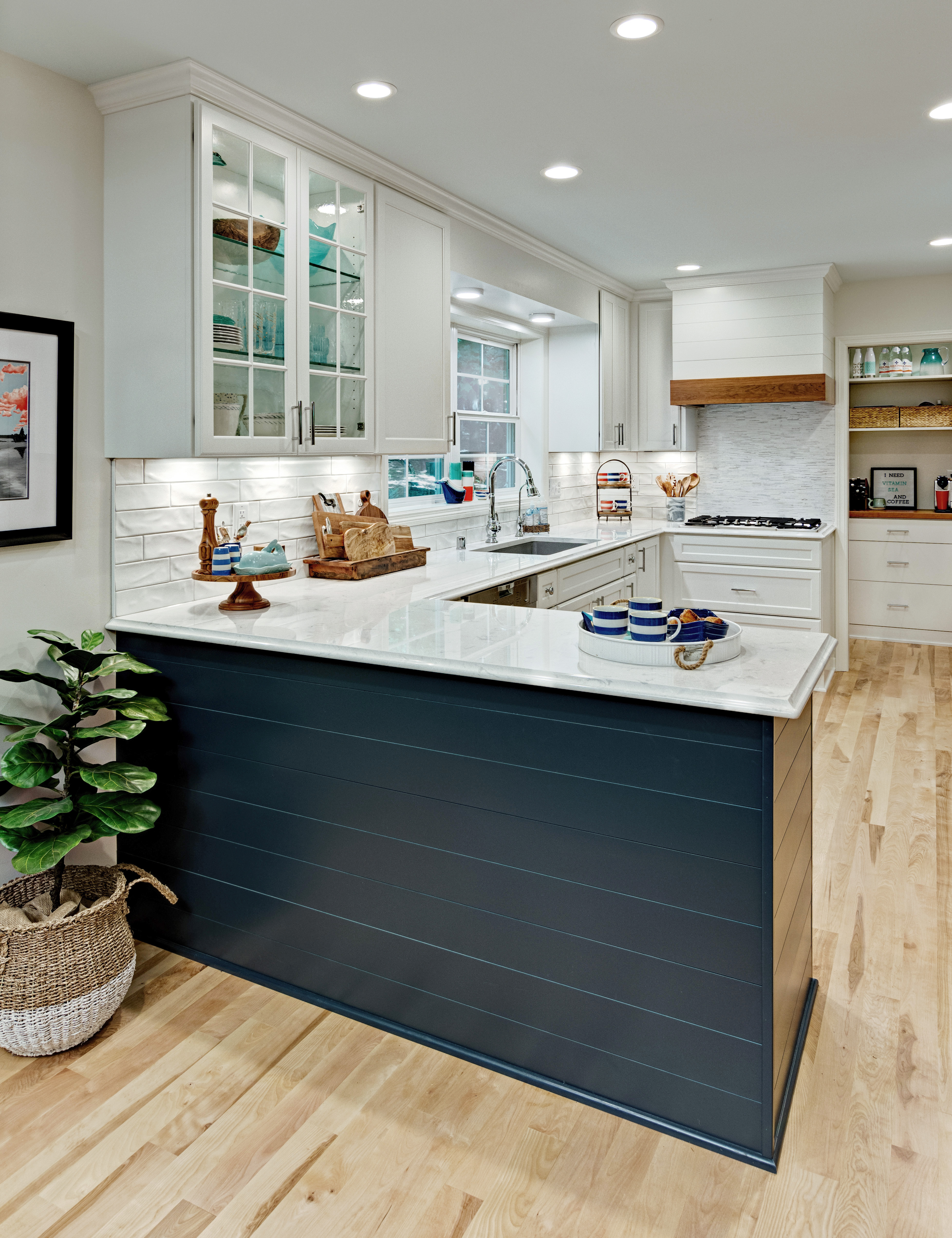 No Room For A Kitchen Island Add A Peninsula To Your Kitchen Dura Supreme Cabinetry