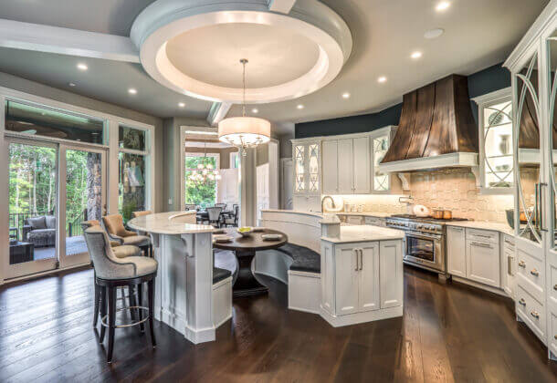 Dura Supreme Cabinetry design by Aaron Mauk of Mauk Cabinets by Design, Ohio.