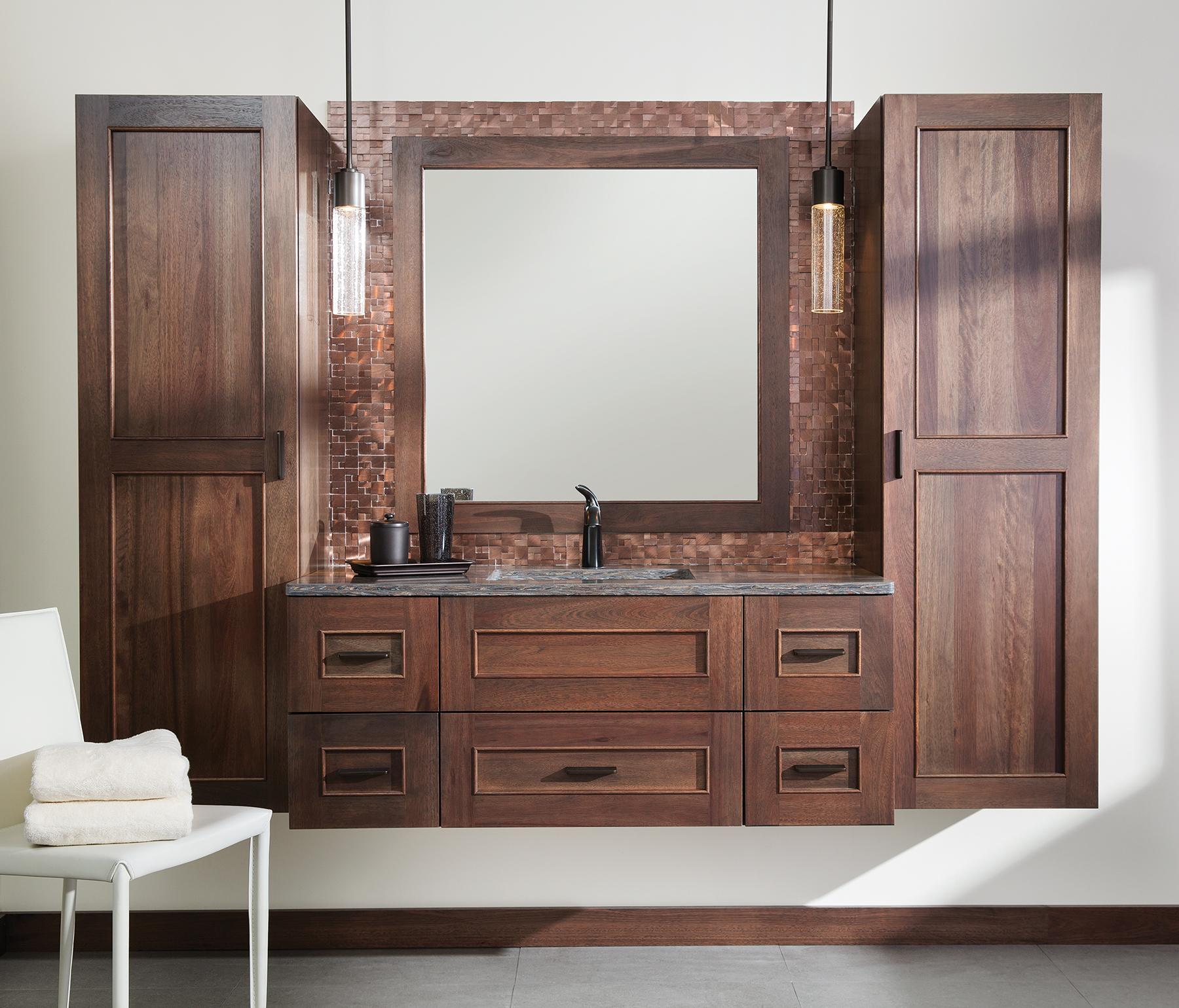 Floating Vanities Bathroom Cabinets Dura Supreme Cabinetry