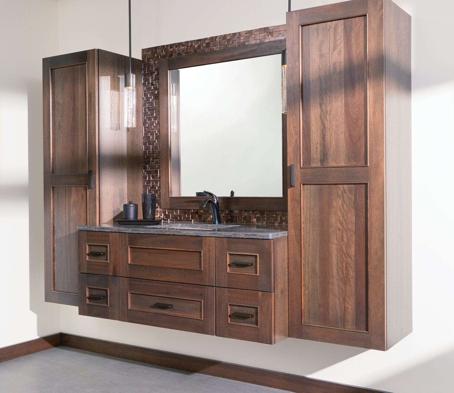 Dura Supreme's Floating Vanity Collection