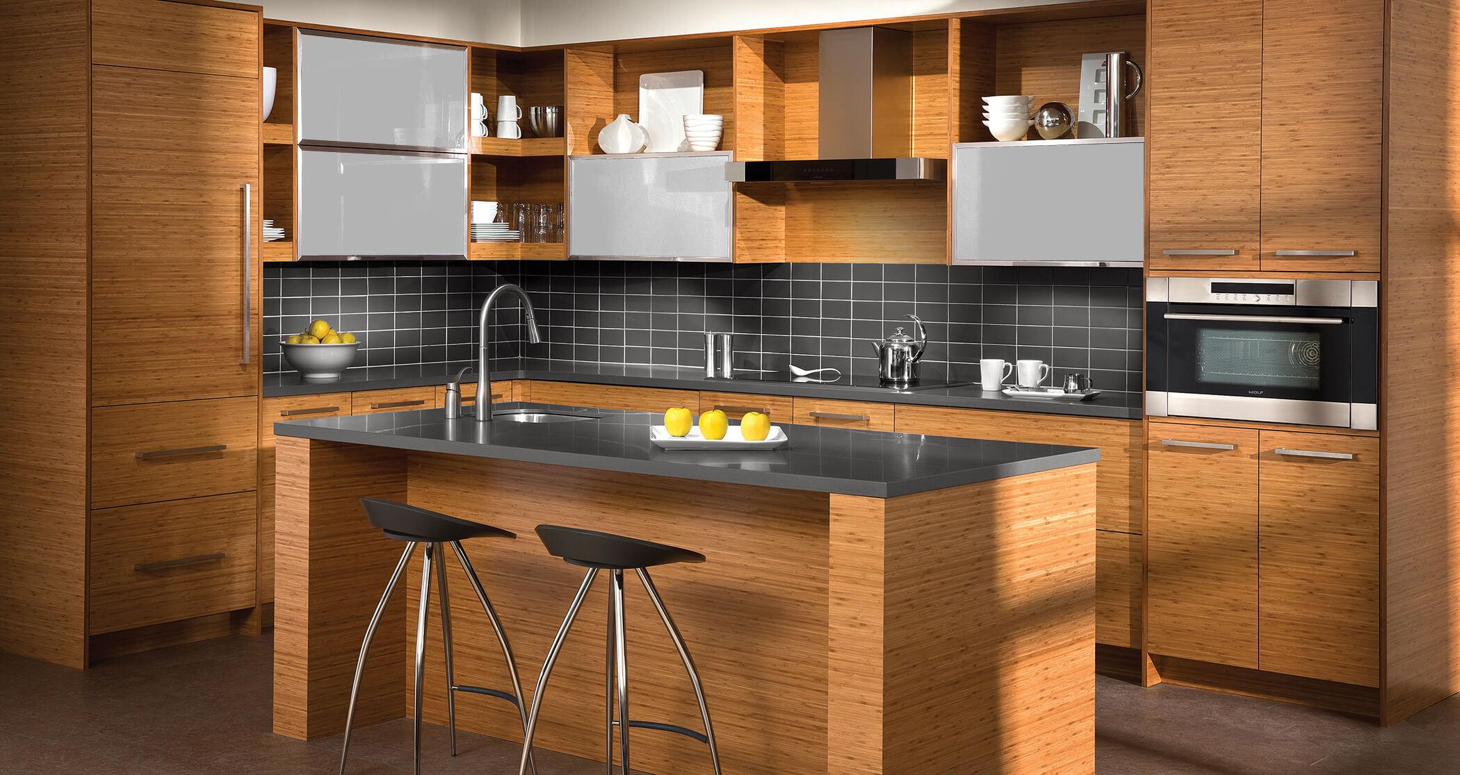 Trend Study Horizontal Grain Cabinets Make Kitchen Designs Modern Natural Dura Supreme Cabinetry