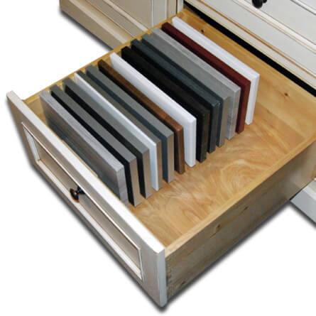 Deep Drawer Sample Organizer