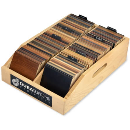 Color Chip Sample - Maple Display Box Only