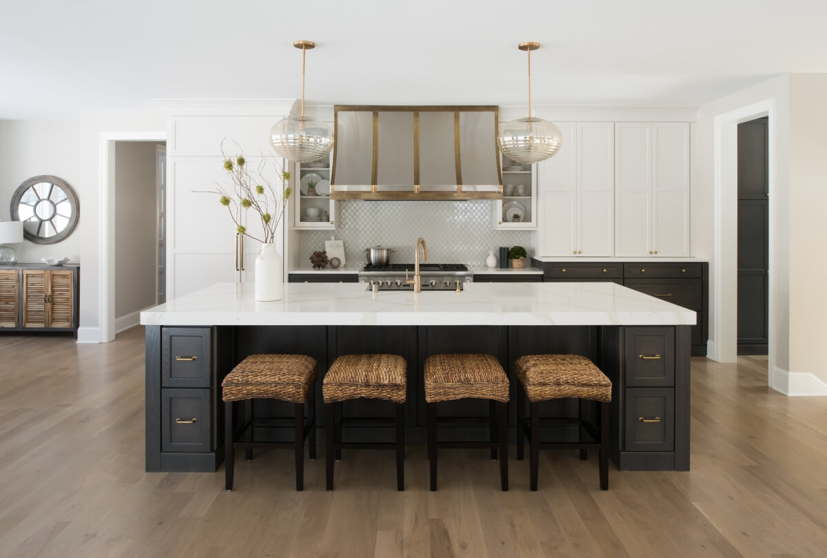 Dura Supreme cabinetry design by Megan Dent of Studio M Kitchen & Bath, Plymouth, MN.