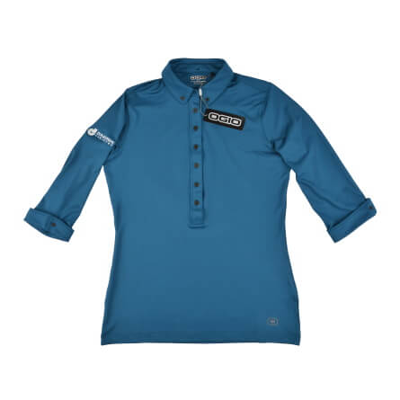 OGIO Ladies Gauge Polo with 3/4 Sleeves - Additional Color Options