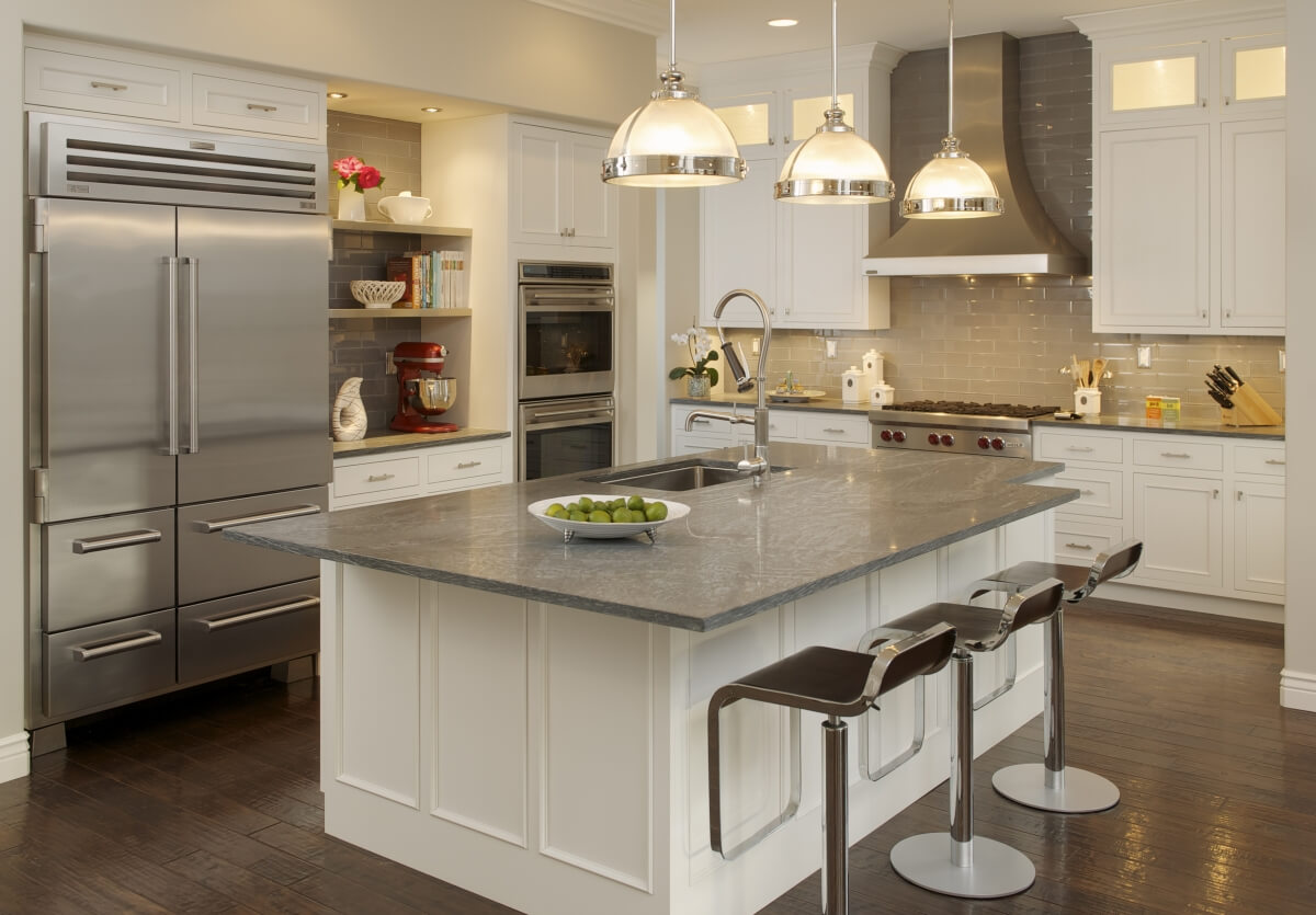 How To Hide Your Refrigerator In Plain Sight With Appliance Panels Dura Supreme Cabinetry